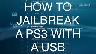 HOW TO JAILBREAK YOUR PS3 WITH A USB ON 4.80!! + BO2 MOD MENUS NO JAILBREAK!! EASY! + DOWNLOADS