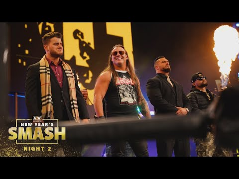 What are the Inner Circle's New Year's Resolutions?   AEW New Year's Smash Night 2, 1/13/21