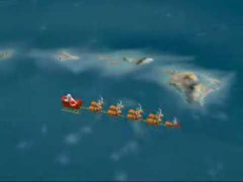 Norad tracks santa 2002 & 2003 - Lihue, Hawaii