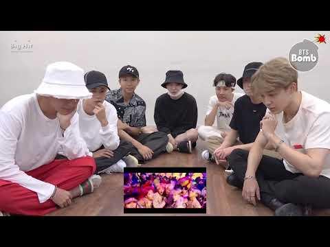 [ENG SUB] Bangtan bomb-  BTS 'IDOL' MV reaction - BTS