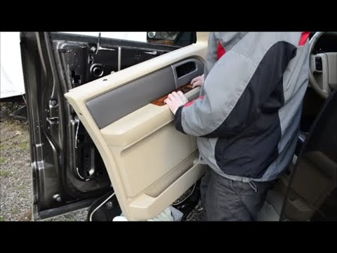How to Remove and Install Door Panel on Ford Expedition Lincoln Navigator (07-17)