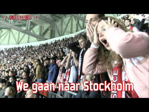 We gaan naar Stockholm toe (Ol. Lyonnais - Ajax)