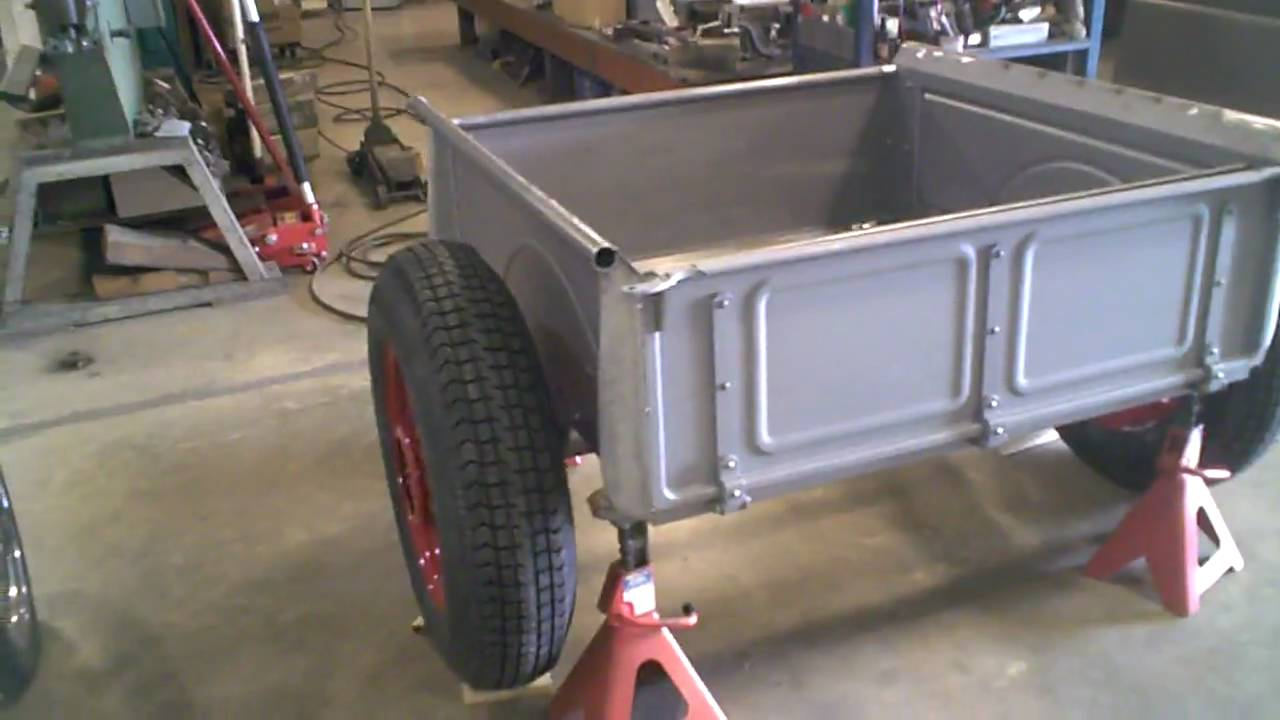 1940 Chevy Truck >> 1934 Ford Pickup - Progress Custom Bed - YouTube
