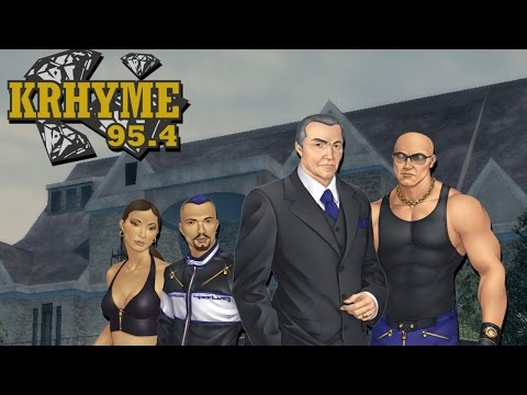 Saints Row 1 - KRHYME 95.4 (Rap Radio Station Soundtrack)