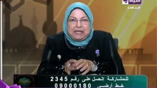 فيديو.. سعاد صالح توضح حكم ارتداء المرأة الكعب العالي