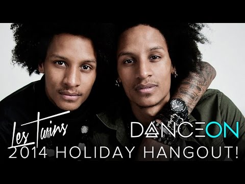 Les Twins 2014 Holiday Hangout! (LIVE Q&A)