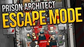 Prison Architect Escape Mode - Ep. 7 - DREAM TEAM ★ Escape Mode Gameplay