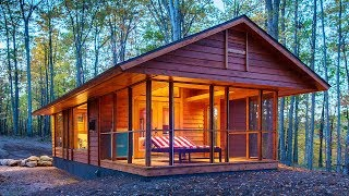 Amazing The 400-sq.-ft. Park Model Tiny Home Built Like A Cabin | Living Design For A Tiny House