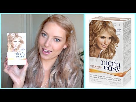 clairol nice n easy hair dye review - Clairol Nice And Easy Colors