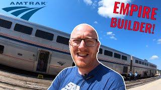 Amtrak Empire Builder: Train Across America!