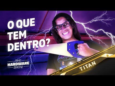 O que tem dentro de uma TITAN V? - The Hardware Show
