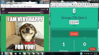 quizizz playing the game