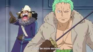 """One Piece: Zoro to Luffy """"new world"""" it's just the beginning """"GET A GRIP"""""""