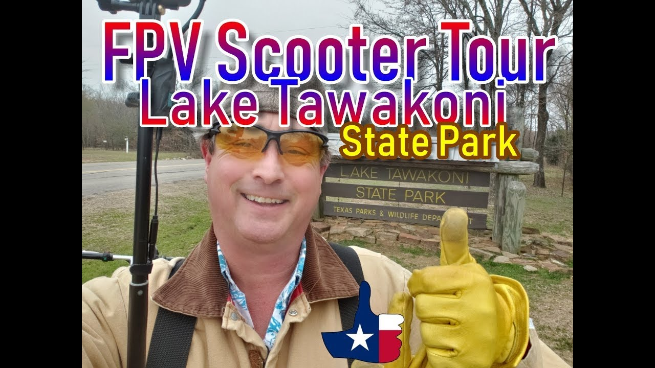 Lake Tawakoni State Park, Texas [Official FPV Scooter Tour]