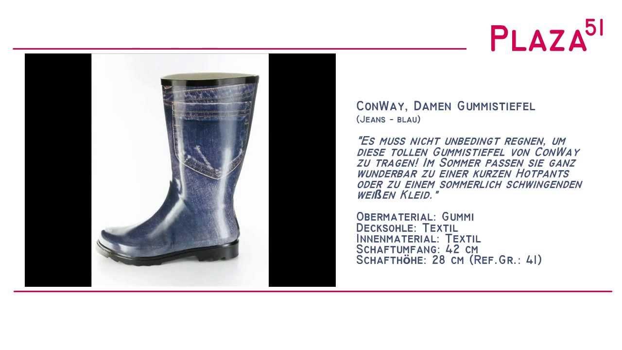 NeuvorstellungConwayDamen Gummistiefel Jeans Blau Gummistiefel NeuvorstellungConwayDamen Jeans 0PnONk8wX