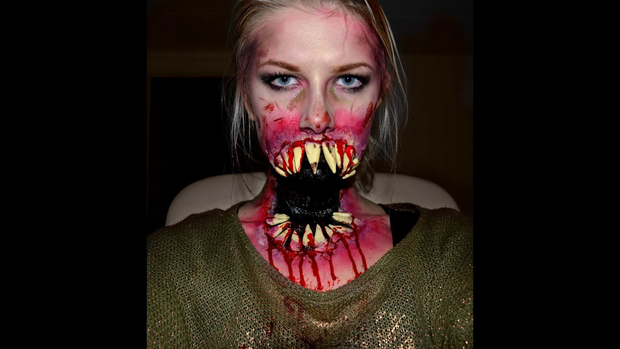 Monster Mouth With Teeth Tutorial - YouTube