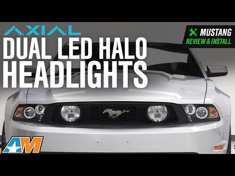 2010 2012 Mustang Raxiom Vector Tail Lights Red Diffusers Review