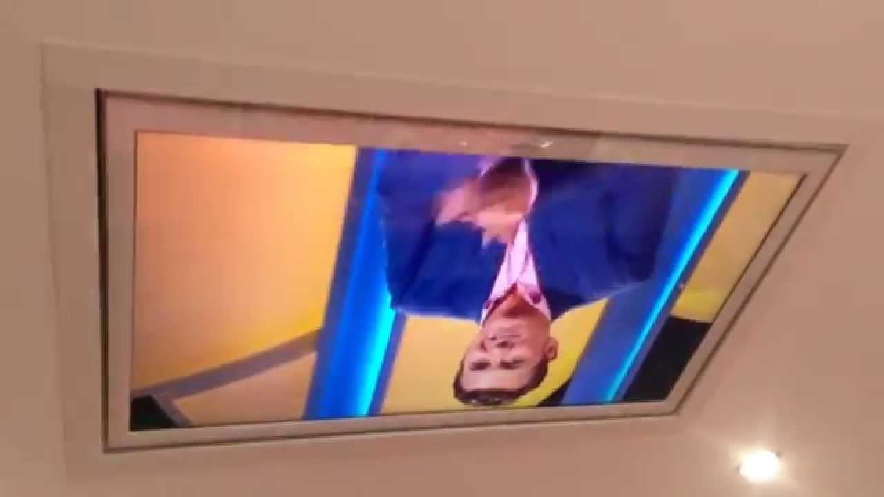 flush ceiling tv mounting - Ceiling Mount Tv