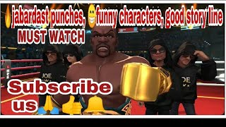 🔥🥊Boxing Star 🌟 tremendous punches🔥with funny characters android game || by author of gamers