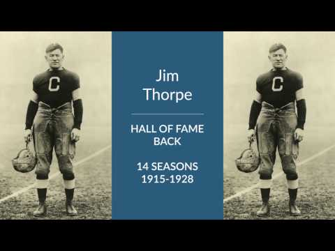 Jim Thorpe Hall of Fame Back