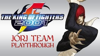 The King of Fighters 2001: Iori Team, Arcade Playthrough & Ending (PS2) (1080P/60FPS)