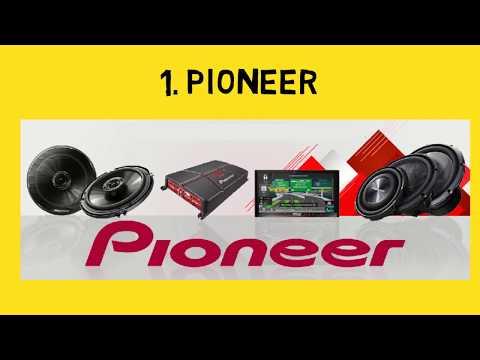 Best Car Sound System Brand | Best Car Speakers Brands