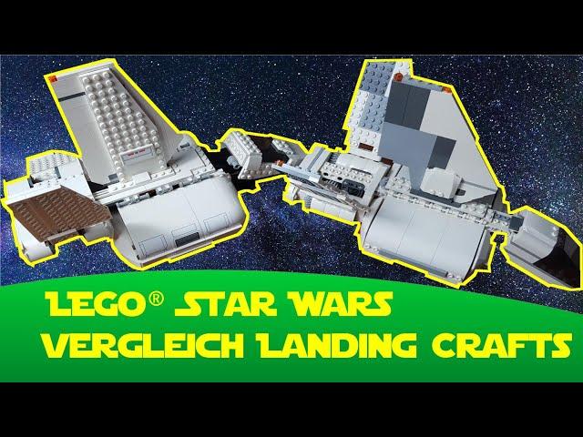 Lego Star Wars Vergleich Imperial Landing Craft  (7659 - 75221)