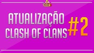 Atualização Clash of clans (Natal) #2 - Torre de arqueira, torre inferno e mais recurso!