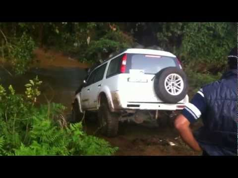 Ford Endeavour DEEP River Crossing