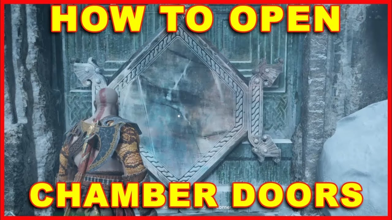 God of War (PS4) How to Open Crystal Doors (Chambers) & God of War (PS4) How to Open Crystal Doors (Chambers) - YouTube