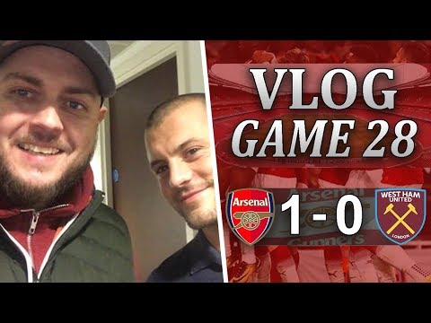 ARSENAL 1 v 0 WEST HAM - WE'RE INTO THE SEMI FINALS! - MATCHDAY VLOG