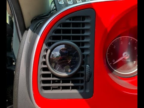 Glow Shift Boost Gauge Install on 2009 Saab 9-3 2.0T | Vent Removal | Mechanical Boost Line