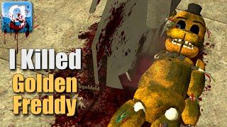 Garry's Mod GOLDEN FREDDY vs PORTALS (Gmod Sandbox FNAF 2 w/ MrWilliamo)
