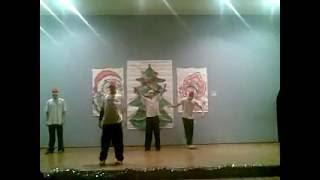 hip-hop танец на Новый год