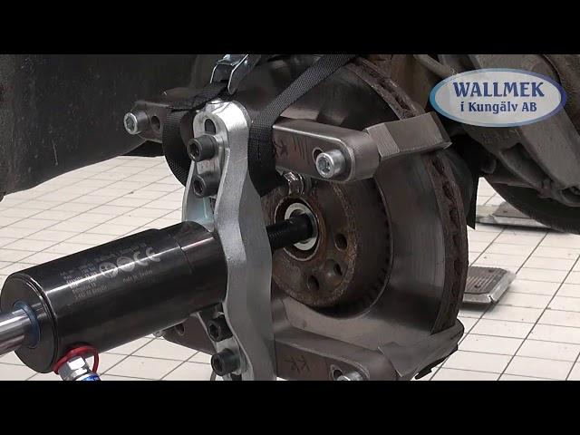 Wallmek W0100048 universele trekker voor remschijven van personenauto's en bestelwagens