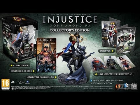 UNBOXING - INJUSTICE Gods Among Us