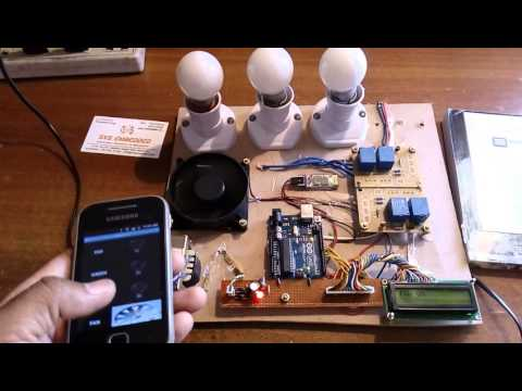 Arduino Based Home Automation Using Bluetooth Android