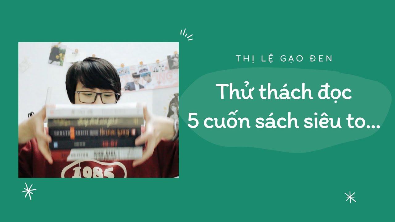 [BOOK REVIEW] - Thử thách đọc 5 cuốn sách dày dã man in a row...