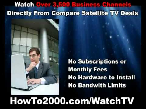 Compare Satellite TV Deals | Watch Over 3500 Business Channels!