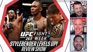 UFC 263 Review Show: Adesanya a class above, Moreno takes the belt, Edwards and Diaz go to war!