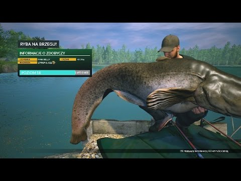 Euro Fishing vs. NiedzielnyW.- # 33 -St. Johns Lake - PINK BELLY [42,18kg] na macie !!!
