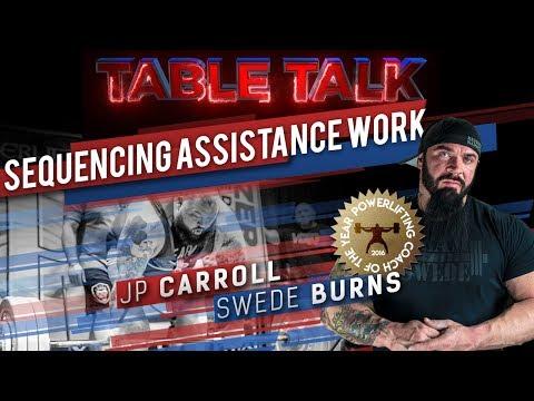 Swede Burns & JP Carroll: Sequencing Assistance Work | elitefts.com