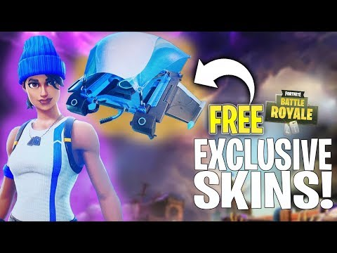 Free EXCLUSIVE NEW SKIN In Fortnite! HOW TO DOWNLOAD!   Fortnite Battle Royale