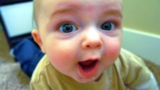 Funny babies videos 2014 | Cute babies laughing | Funny kids videos