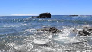 Chile - Secret Beach Near Ahu Vinapu on the Easter Island