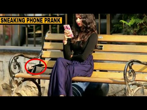 SNEAKING PHONE IN PUBLIC | HSJ PRANKS | PRANKS IN INDIA
