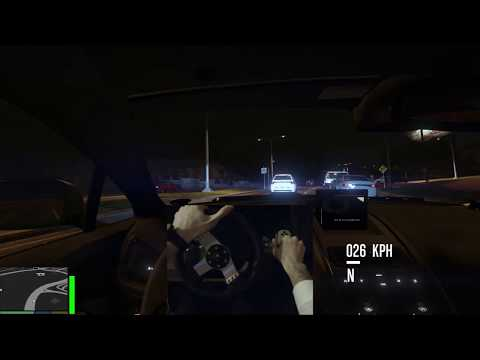 Grand Theft Auto V - Highway Night Drive in Aston Martin thumbnail