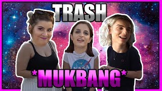 TO ΠΙΟ TRASH MUKBANG - ft. Black Velour & Gingerbread Bae