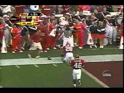 2003 Oklahoma 52 Oklahoma State 9 highlights