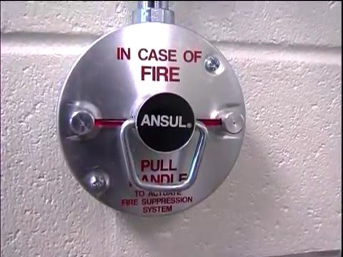 Ansul Restaurant Fire Suppression Systems - YouTube